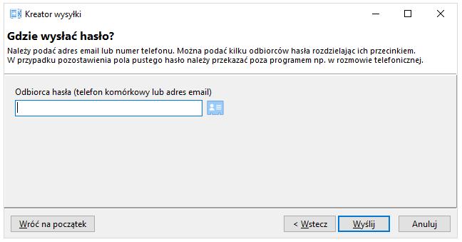 screen: menu kontekstowe, opcje